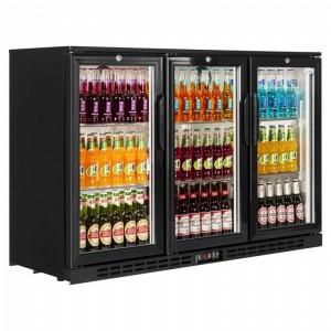 Refrigerator Back Bar Triple Door