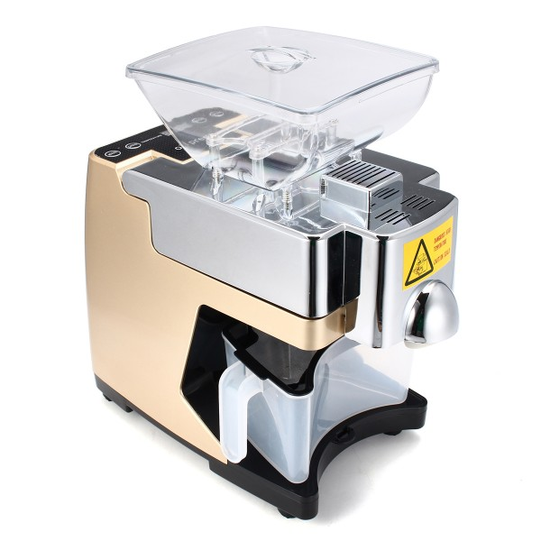 Small Automatic Cold And Heat Oil Press Machine Intelligent Oil Press Household Reputation First Business & Industrial Restaurant & Food Service